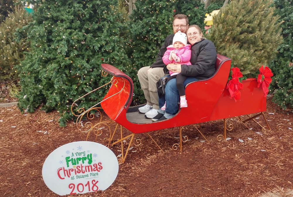 Family time at Sesame Place