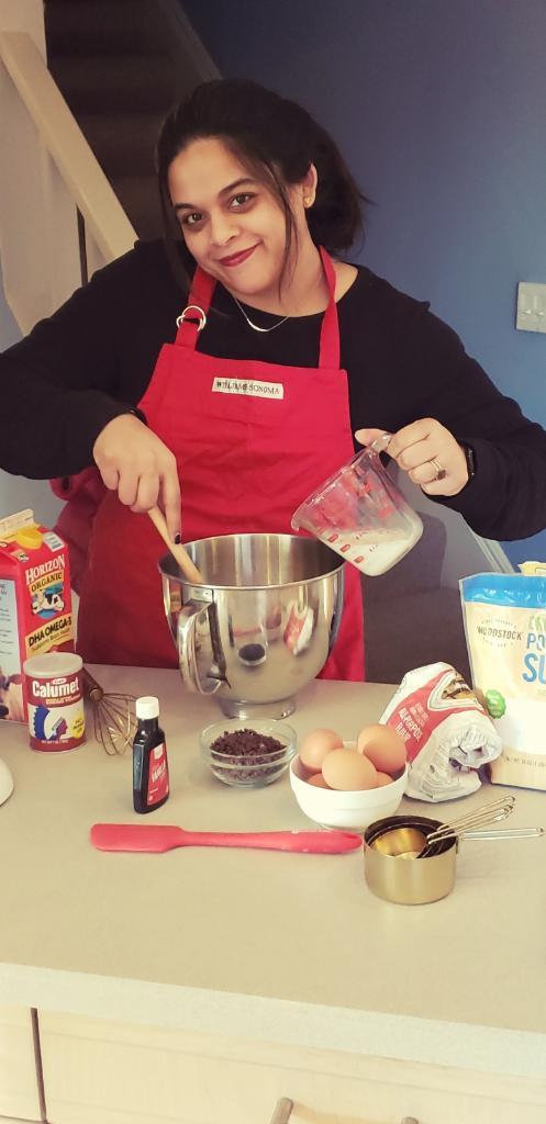 Neeti loves baking!