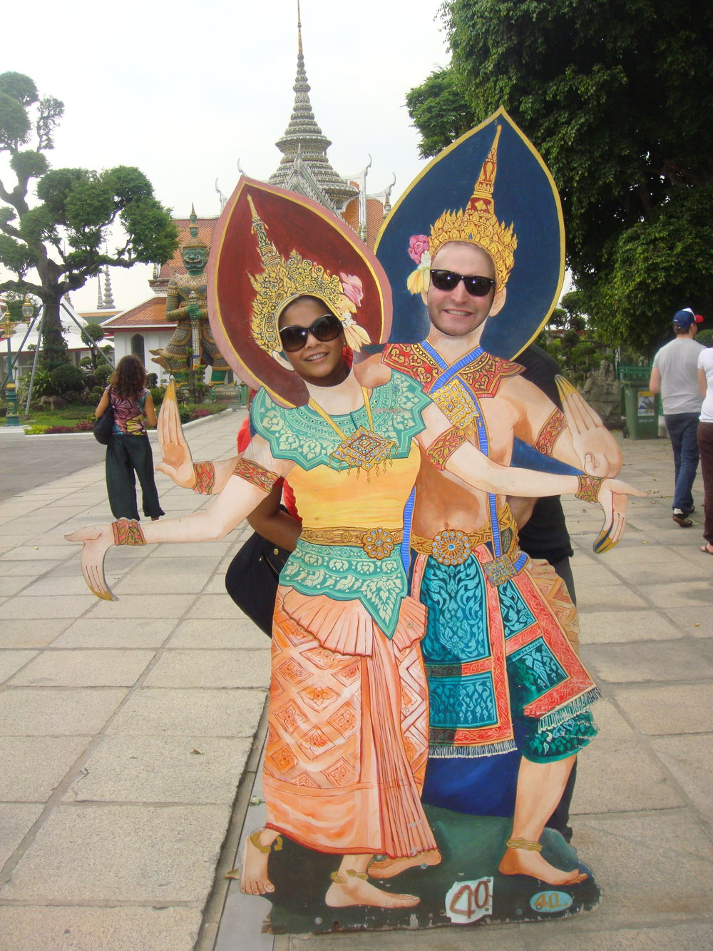 Neeti and Alex in Thailand