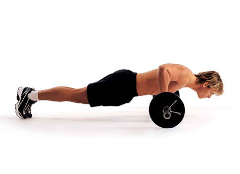 Barbell Push-Up