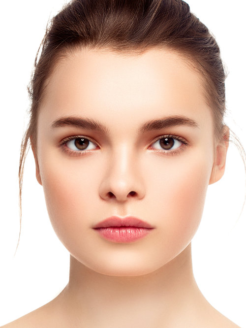 A healthy skin­tone reads as essentially un­coloured to our eyes (this is partly why matching foundation is so difficult).