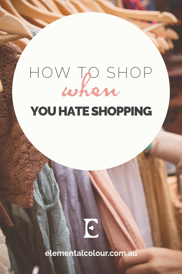 How to Shop When You Hate Shopping:  Why shopping is stressful and how to make it easy