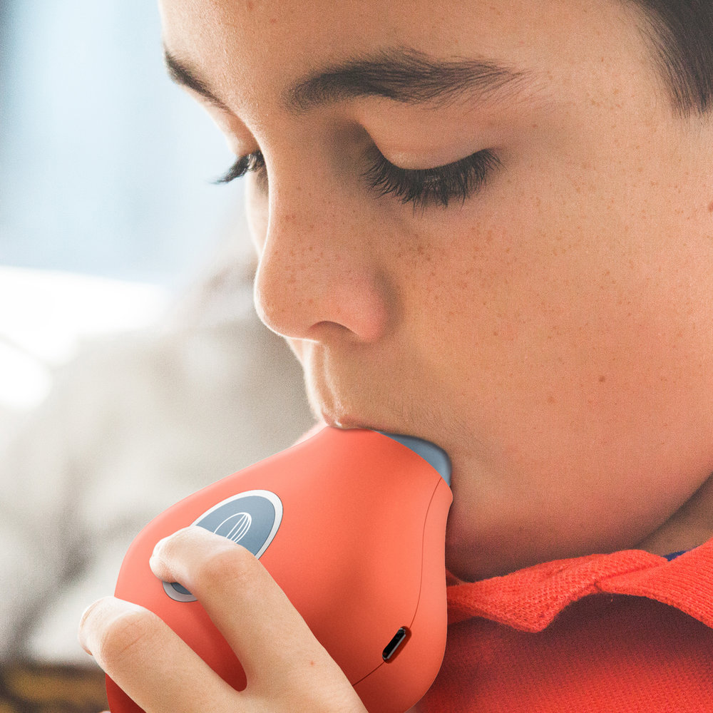 Understand your Asthma  - Aluna is an easy to use system that will help you collect information about lung health data at home so you can better understand your loved ones' respiratory conditions.