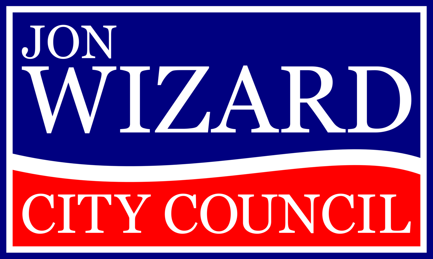 Jon Wizard for City Council 2018