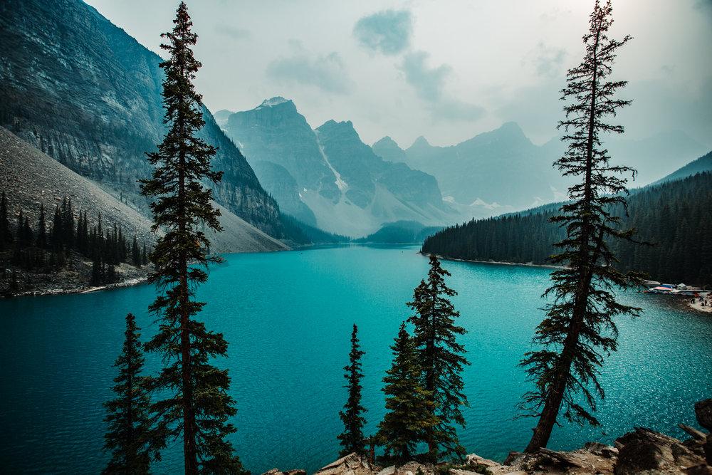 Moraine Lake, Banff National Park, August 2018