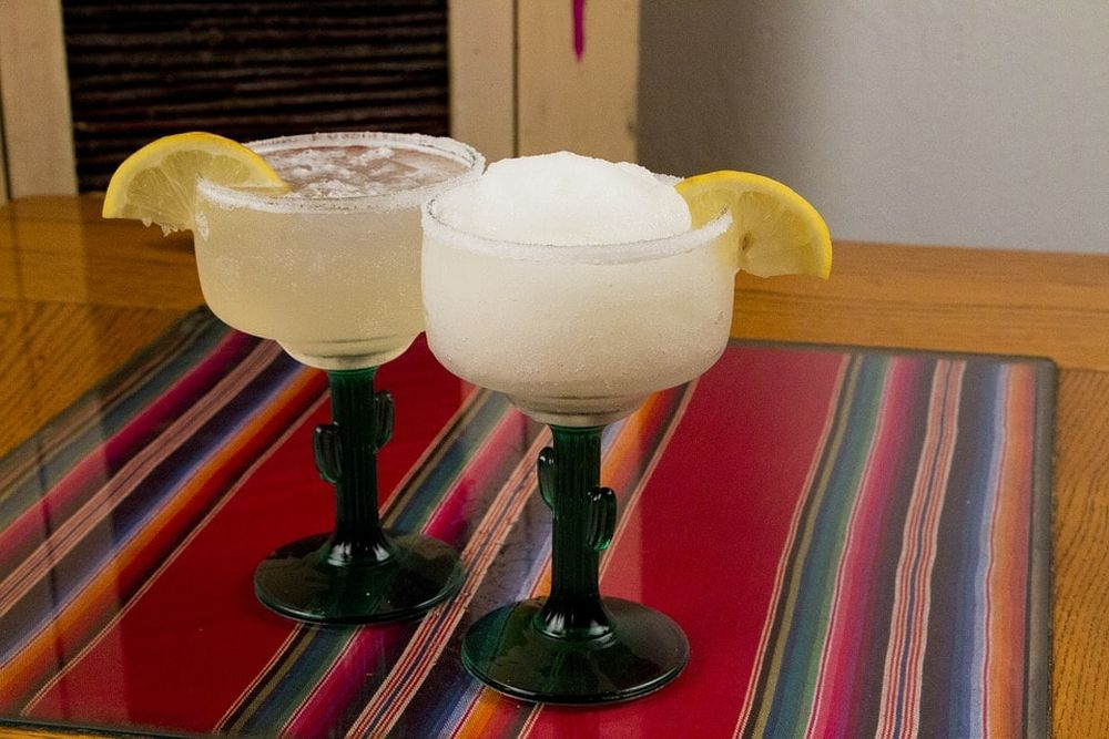 Random Fact: - The world's first frozen margarita machine was invented in 1971 by a Dallas restaurateur, Mariano Martinez.