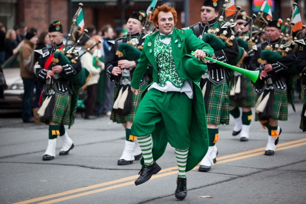 Random Fact - In traditional Irish folklore, there are no female leprechauns.