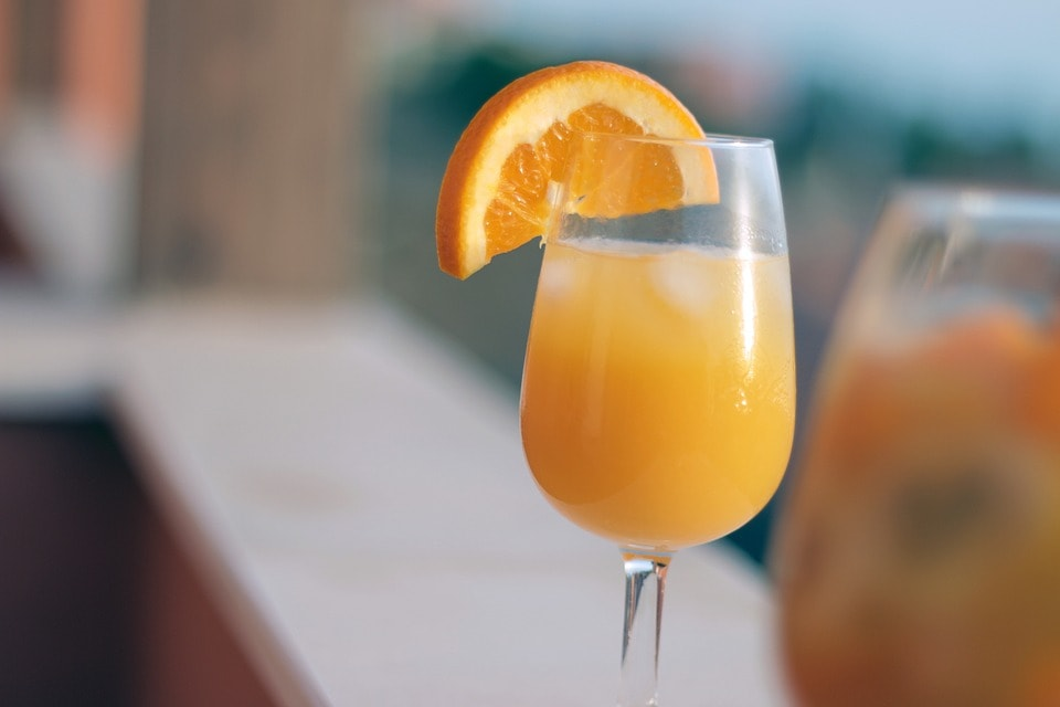 Random Wine Fact: - Mimosas are the common name in Europe for the yellow flowers of Acacia dealbata.