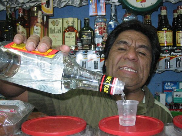 Random Fact: - In fact, if you bring a bottle of Nectar aguardiente from Bogotá to Medellín you risk in being confiscated from you for being contraband.