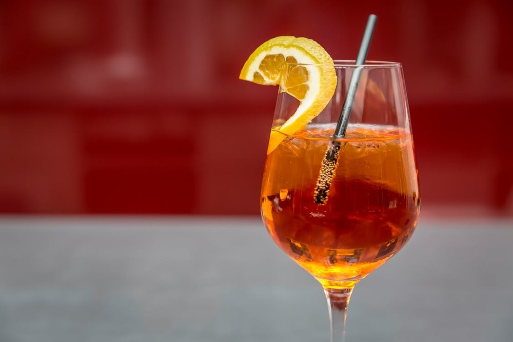 Random Fact: - The one thing we can congratulate the Austrians for is inventing the infamous Aperol Spritz, which traditionally is not a wine spritzer considering the addition of the liqueur.