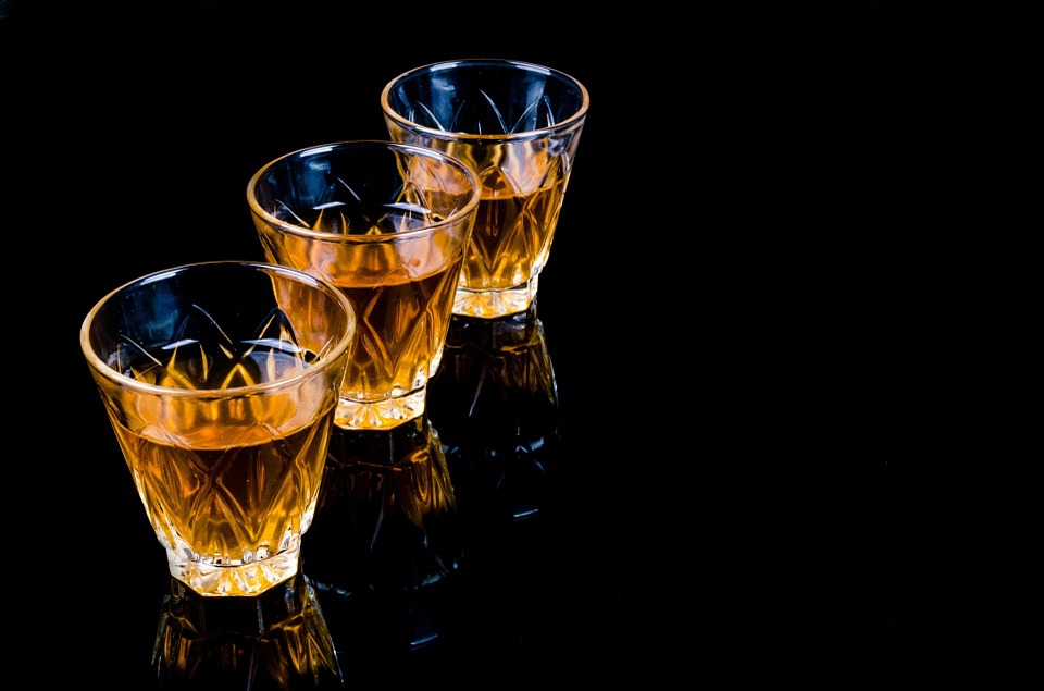 Random Fact: - According to the Drambuie website, only 3 people alive today know the recipe to the elixir.