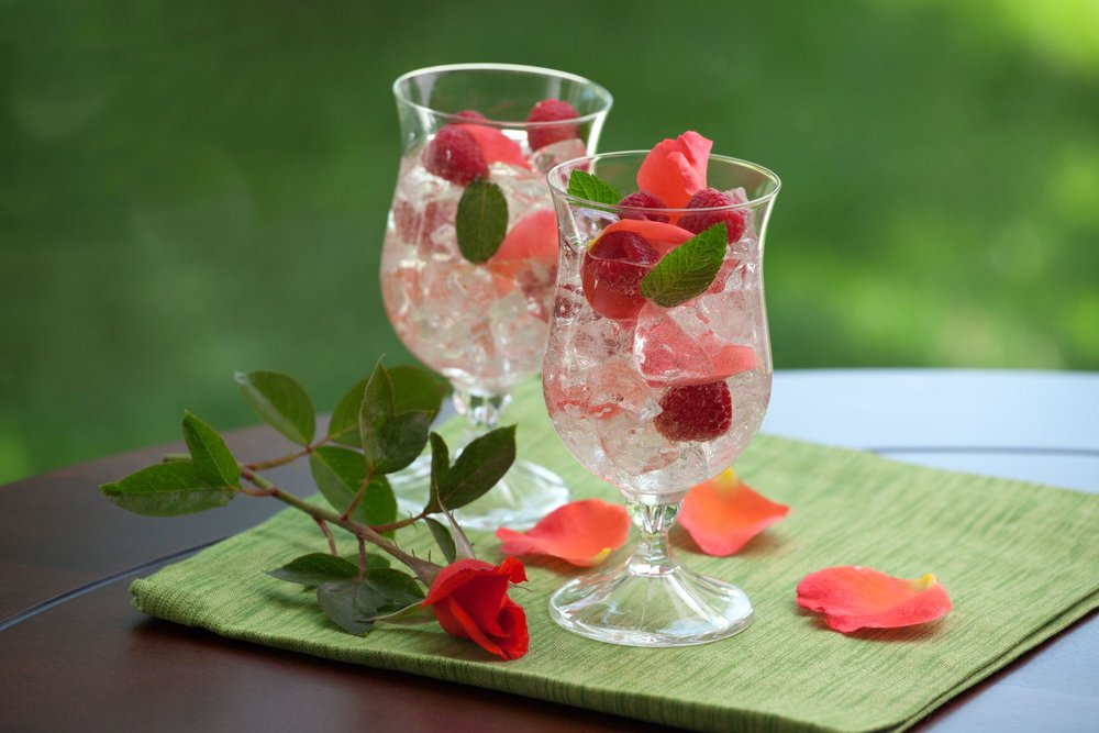 Random Fact: - The raw distillate of rose petals is really a layer of oil known as rose attar that is typically used in perfumes floating on top of a water layer.