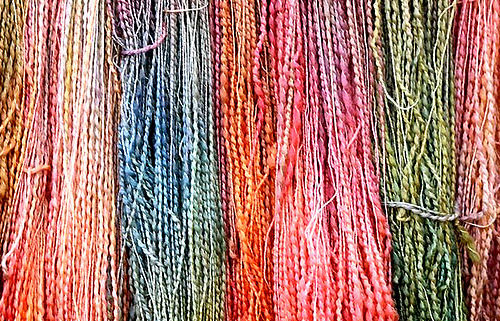 Mollydale Yarns —hand-dyed 100% wool - A vibrant range of hand-dyed Australian wool yarn.