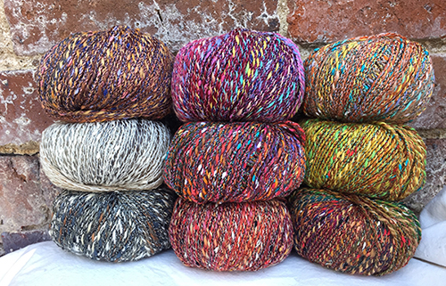 Filatura di Crosa Quality Yarn - Merino wool and multi-colour cotton-blend yarn from Italy.