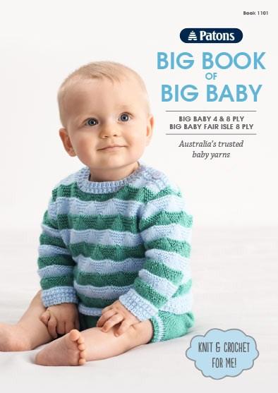 6395f9945745 Patons knitting pattern — Big Book of Big Baby