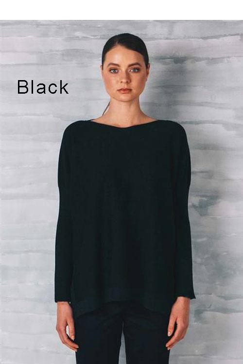 b1528b22d7c05a Uimi — Tabitha Two tone Jersey Jumper — 100% Merino Wool | The ...
