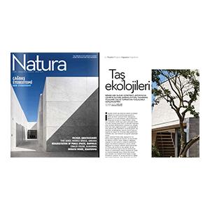 2014  Natura Magazine     March 2014  (Turkish architectural magazine Natura)
