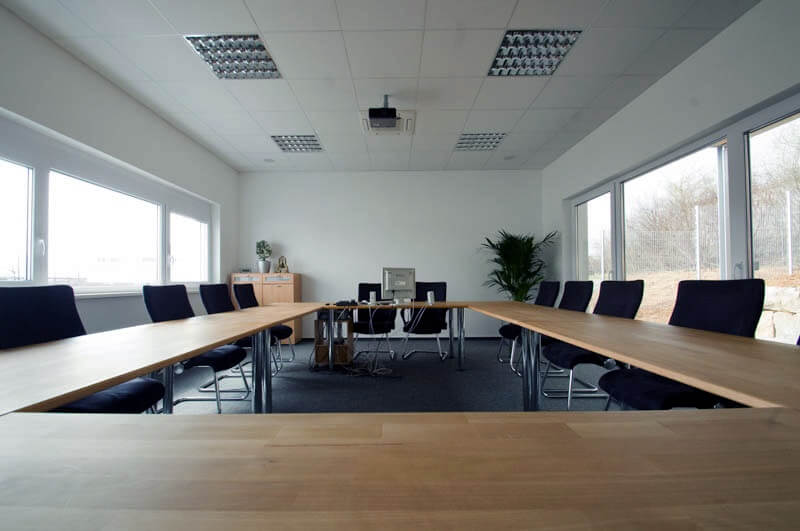 This is one of our conference rooms in Wuerzburg, Bayern. Many consulting or training sessions will be held there.