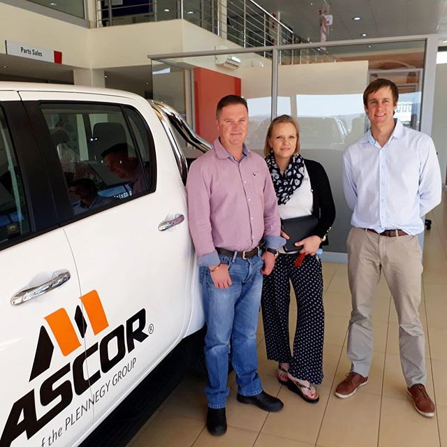 An ENORMOUS thank you to Mascor for the sponsorship of a brand new Toyota Hilux to the Harry Gwala Agri initiative!