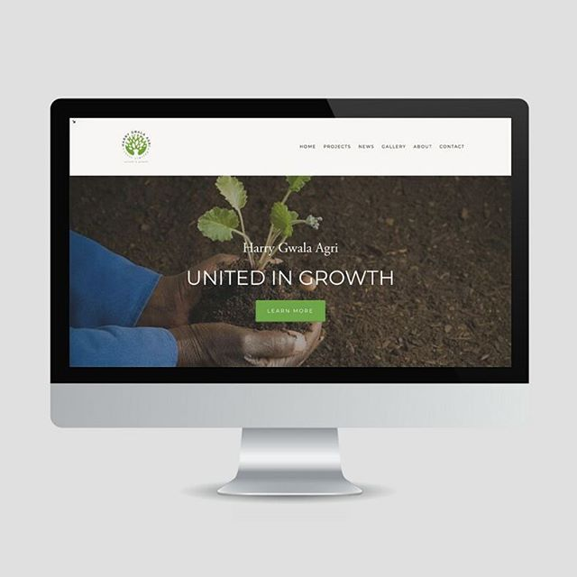 Our website is live! Go check it out! http://www.harrygwalaagri.co.za/ Thank you to @_bearista for a product we can be proud of!