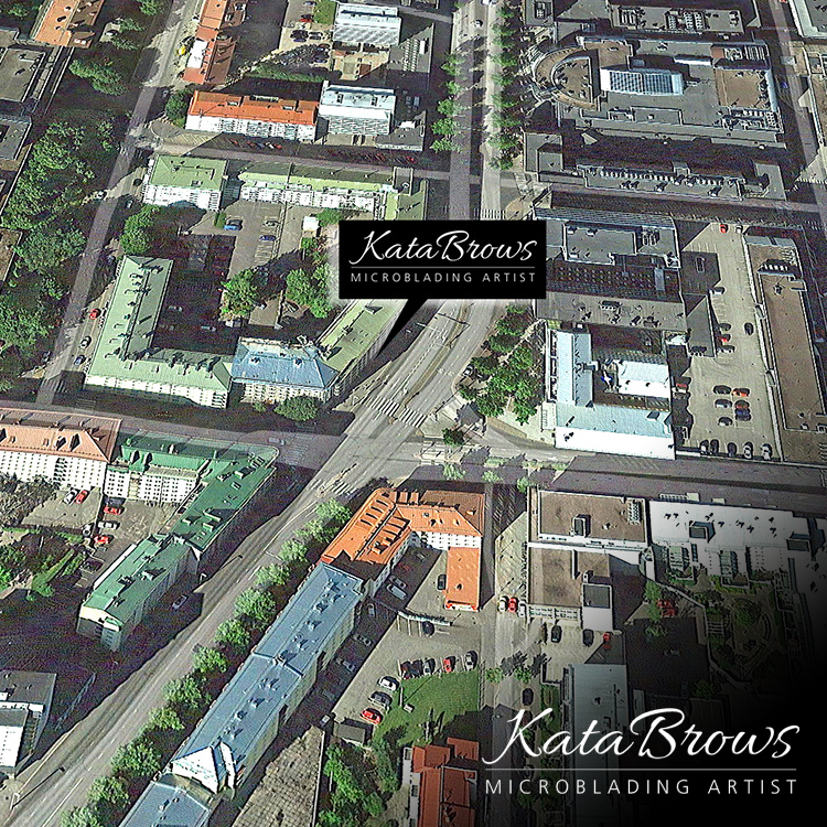 You can find Katriina at Aleksanterinkatu 31, Lahti, Finland. That is her home town where she started the career that has now become truly remarkable in the world of microblading.
