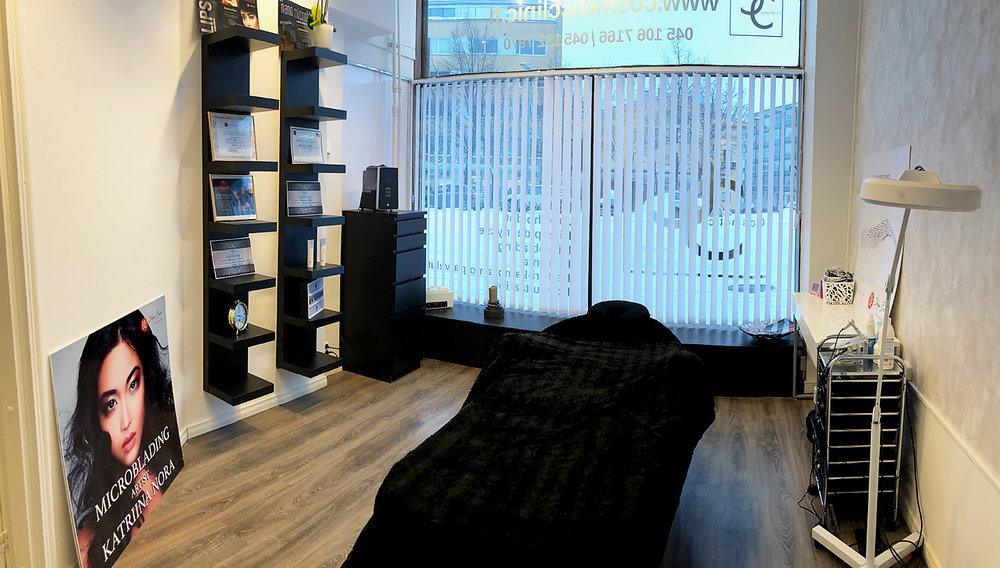 KataBrows salon in Lahti - Simple yet professional.