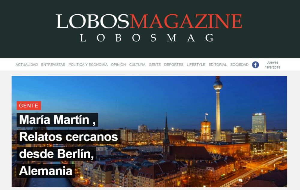 Web oficial de Lobos Magazine