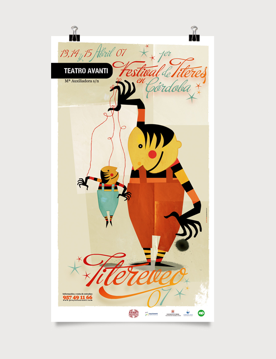 Festival de Títeres. Teatro Avanti