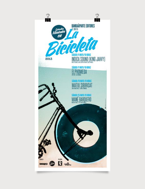 Bandaàparte editores en La Bicicleta