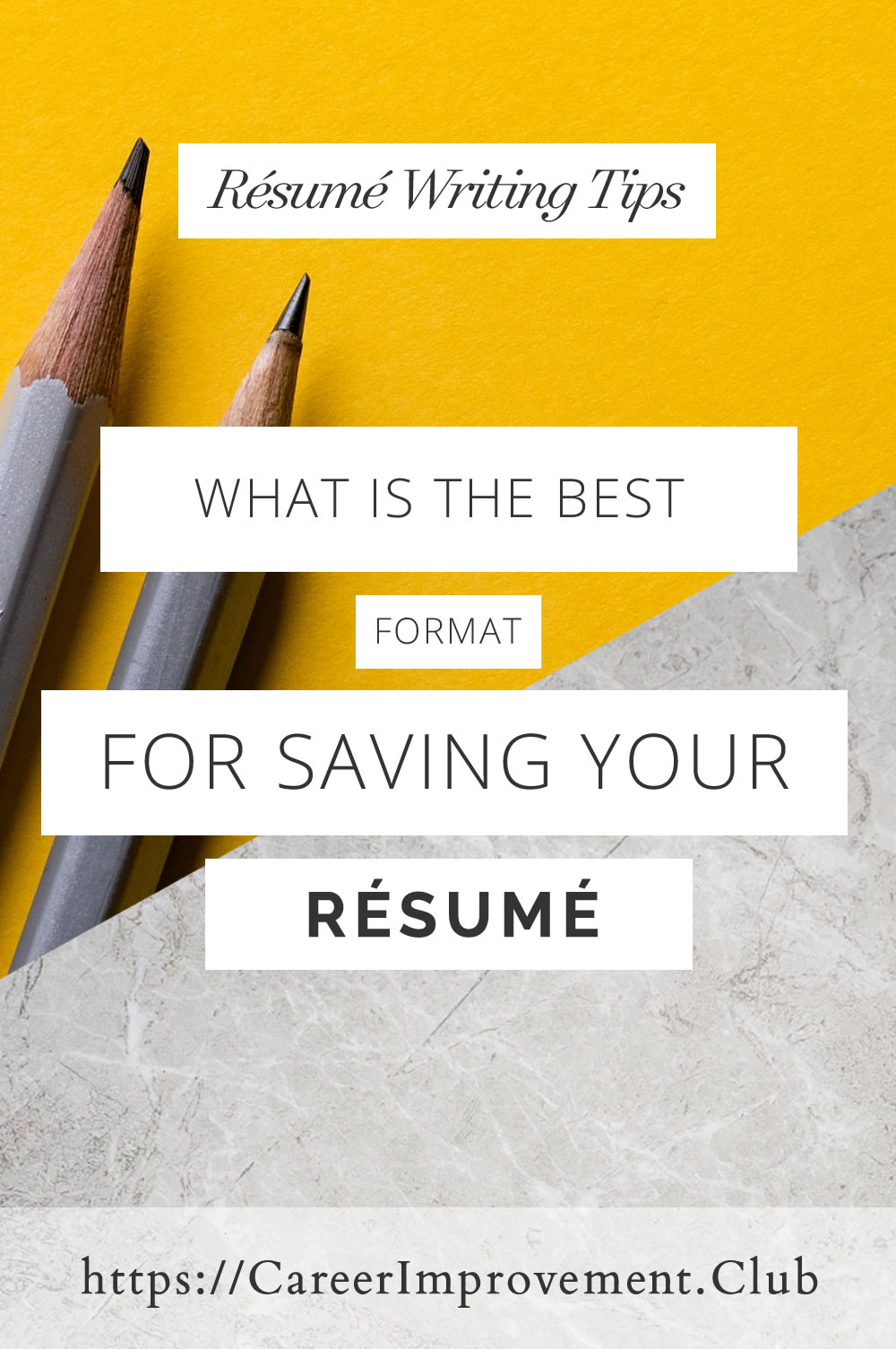 What is the best format for a resume.jpg
