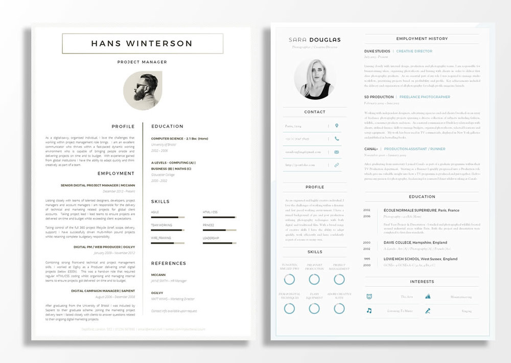 1 page is the perfect length - CV examples for students with no experience.