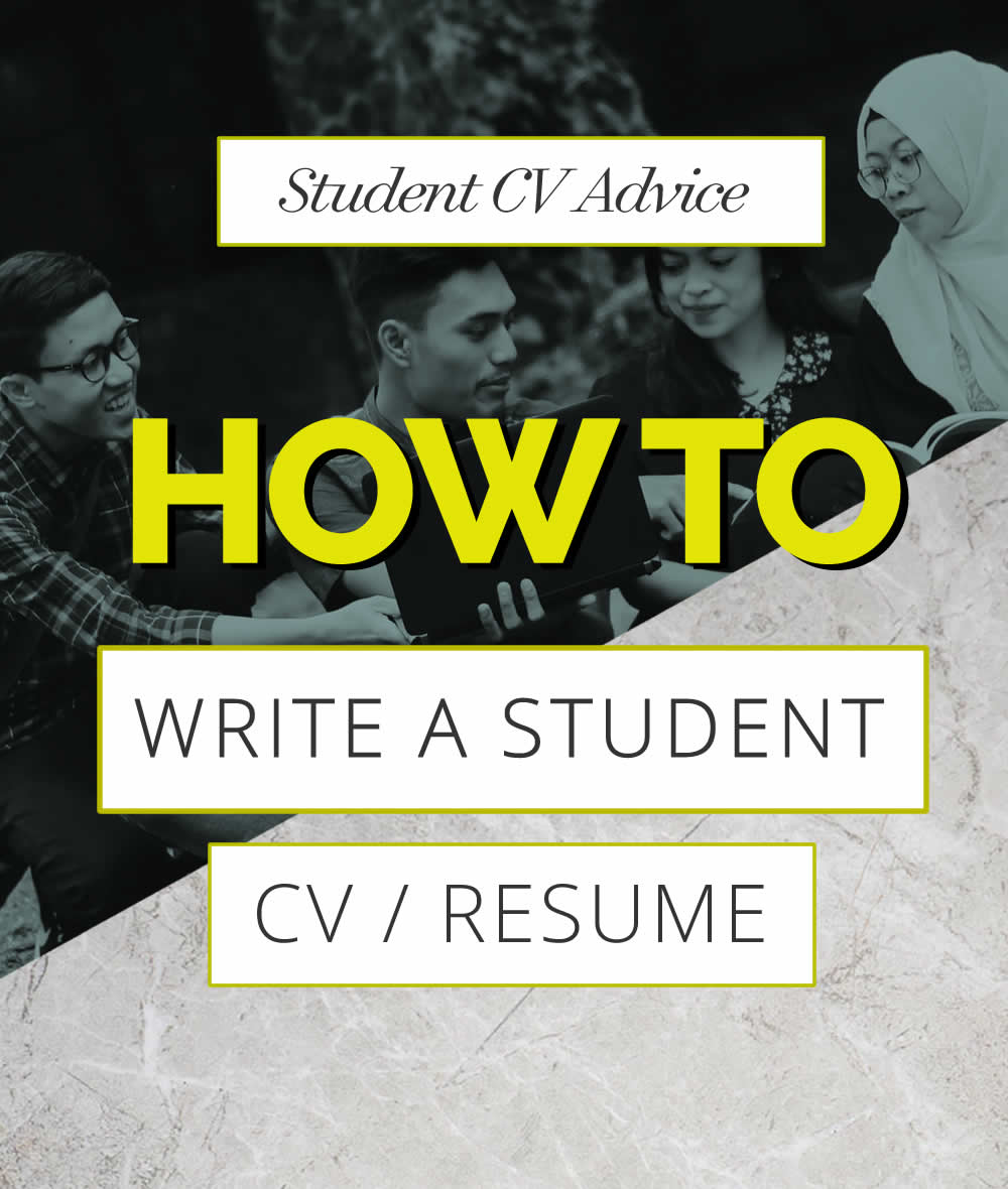 How to write a Student CV