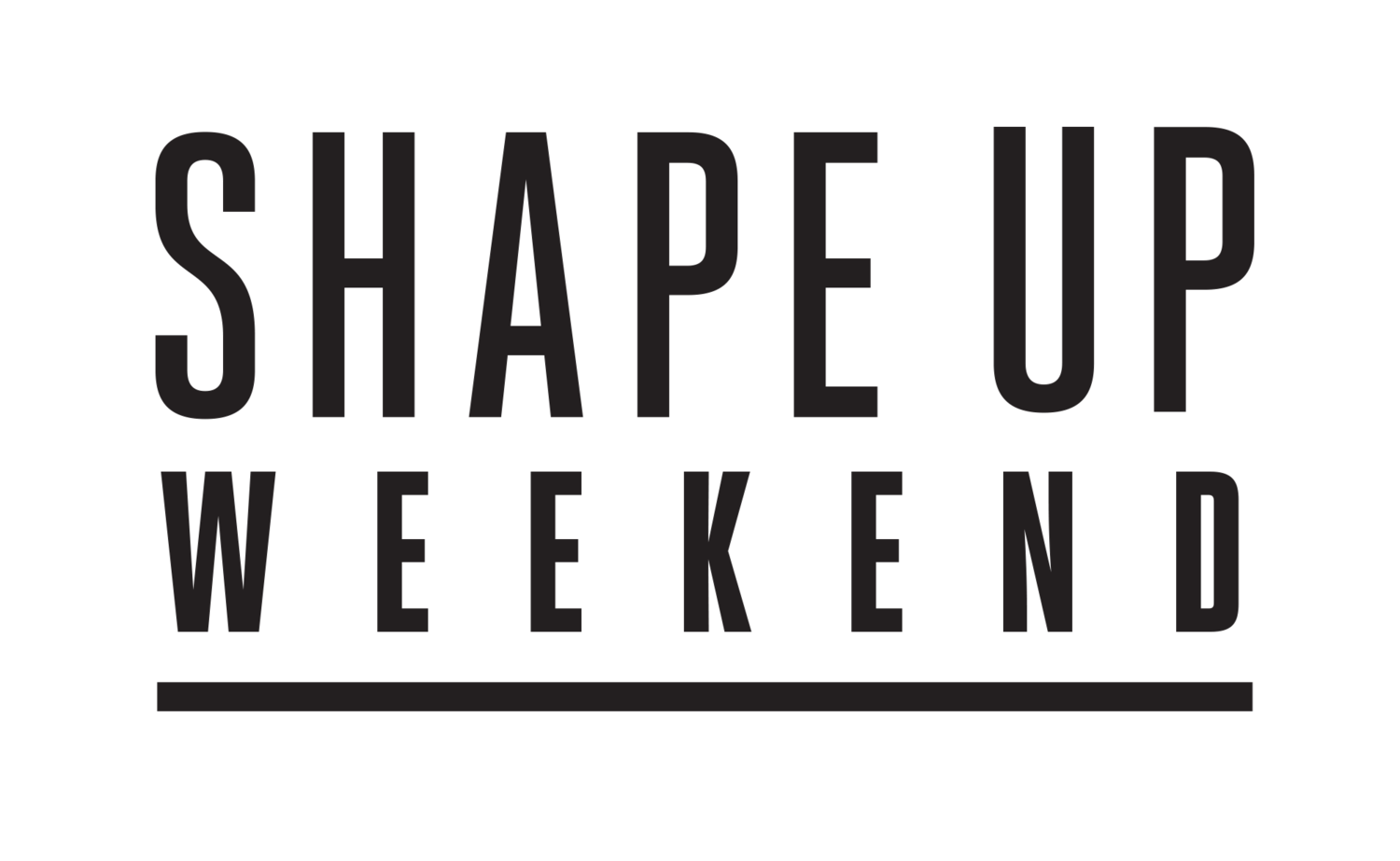 Shape Up Weekend