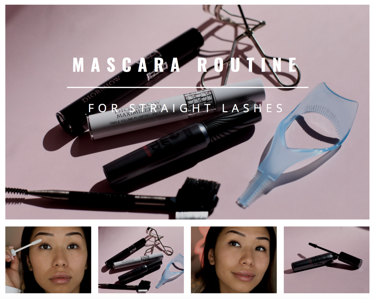 a1c4c036c0a Step by Step: Mascara Routine For Straight Lashes — Jenny Do
