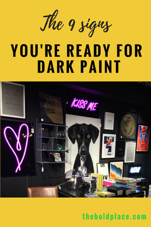 Pin to read later: The 9 signs you're ready for dark paint
