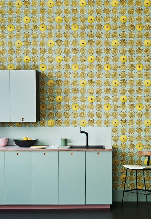 Arance is a zesty design from the Senzo Tempo collection by  Cole & Son  and Fornasetti