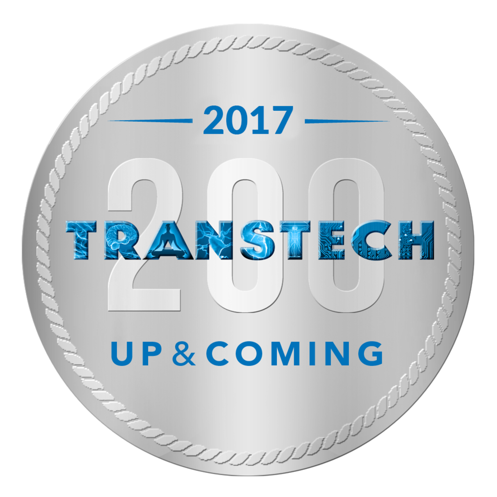 eScent® is recognised on the  TransTech200 'Up & Coming' Innovator list . The TransTech 200 is the annual list of the key innovators who are driving technology for mental and emotional wellbeing forward.