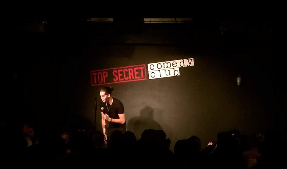 André De Freitas at Top Secret Comedy Club