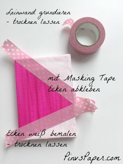 DIY Ostern Leinwand