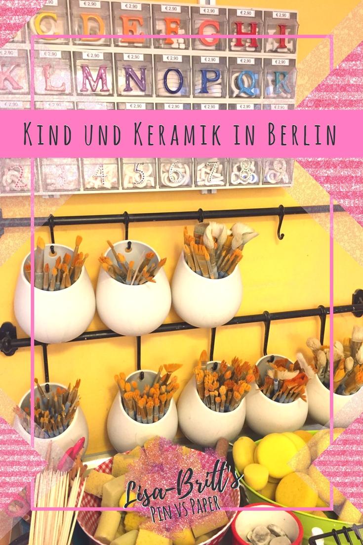 Kind und Keramik in Berlin