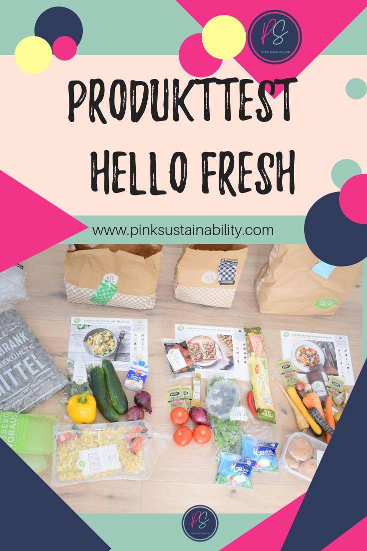 Hello Fresh Produkttest