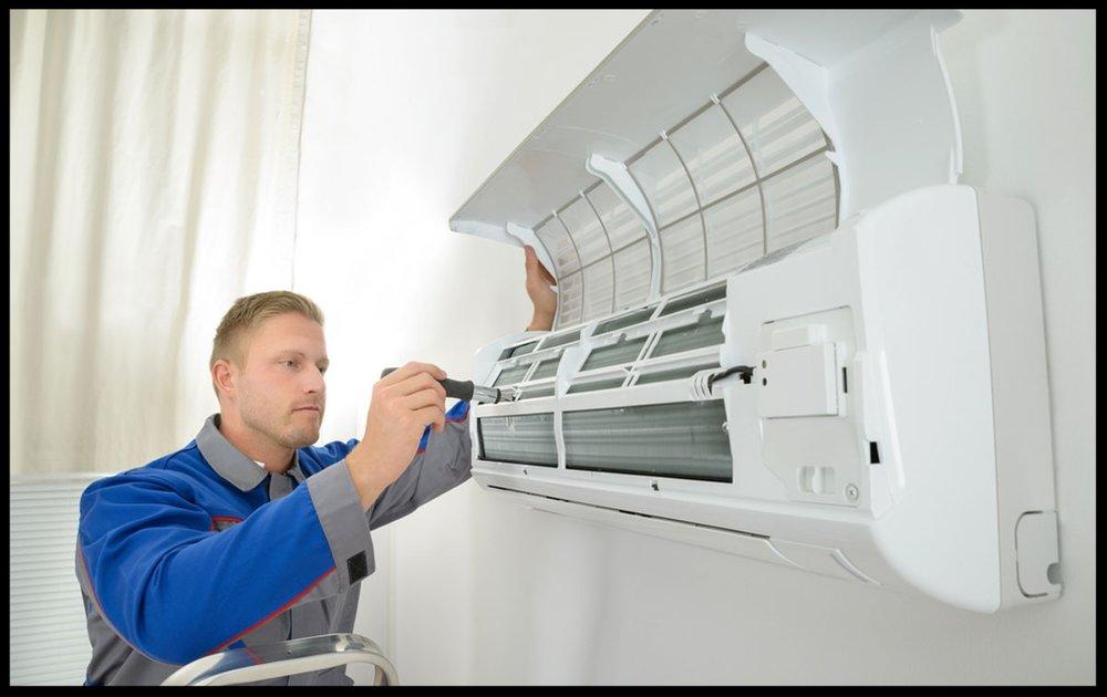 Ar condicionado - Instalação, manutenção, higienização para ar condicionado e PMOC.