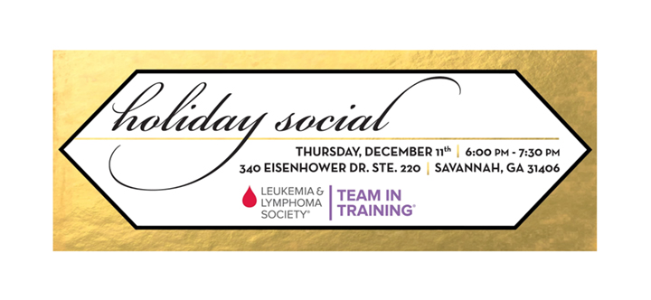 LLS holiday social facebook invitation