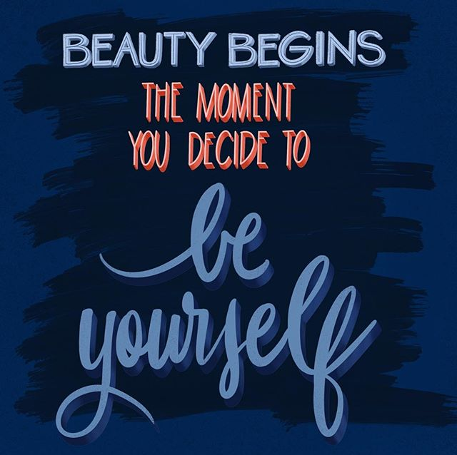 For the most beautiful.  #truth #procreateart #handlettering #handletteringpractice #savannahart  #savannahlettering  #saturdayart