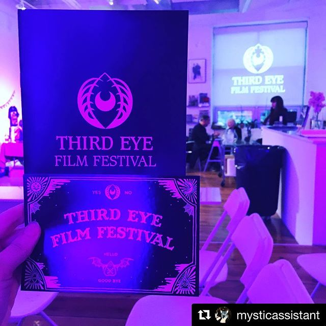 #Repost @mysticassistant with @get_repost ・・・ Yesssssss. Saturday in the city. 🎥🎥🎥🎥🎥🎥🎥🎥🎥 #radsaturday #womeninfilm #womeninhorror #thirdeyefilmfestival #teff2018