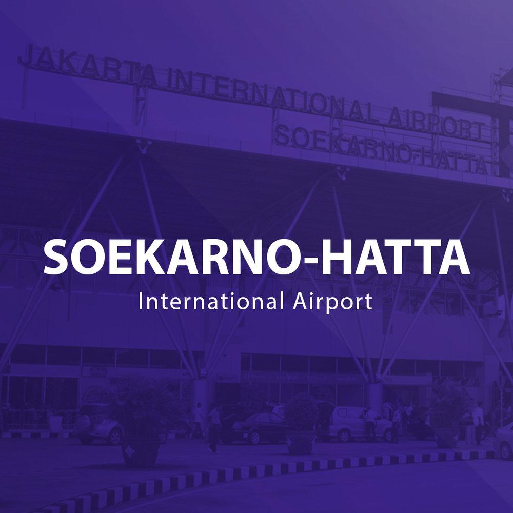 SOEKARNO-HATTA  Terminal 1B Terminal 1C Terminal 2F Terminal 3 Domestik Terminal 3 Ultimate