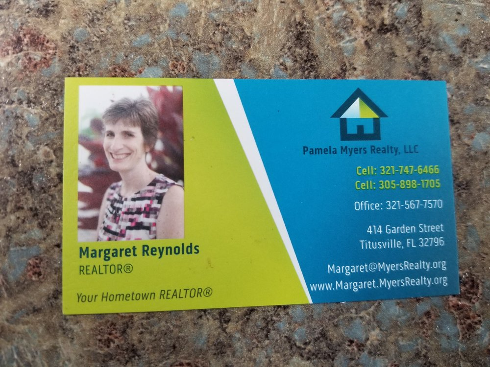 Looking for a home in Titusville?  Call Margaret!
