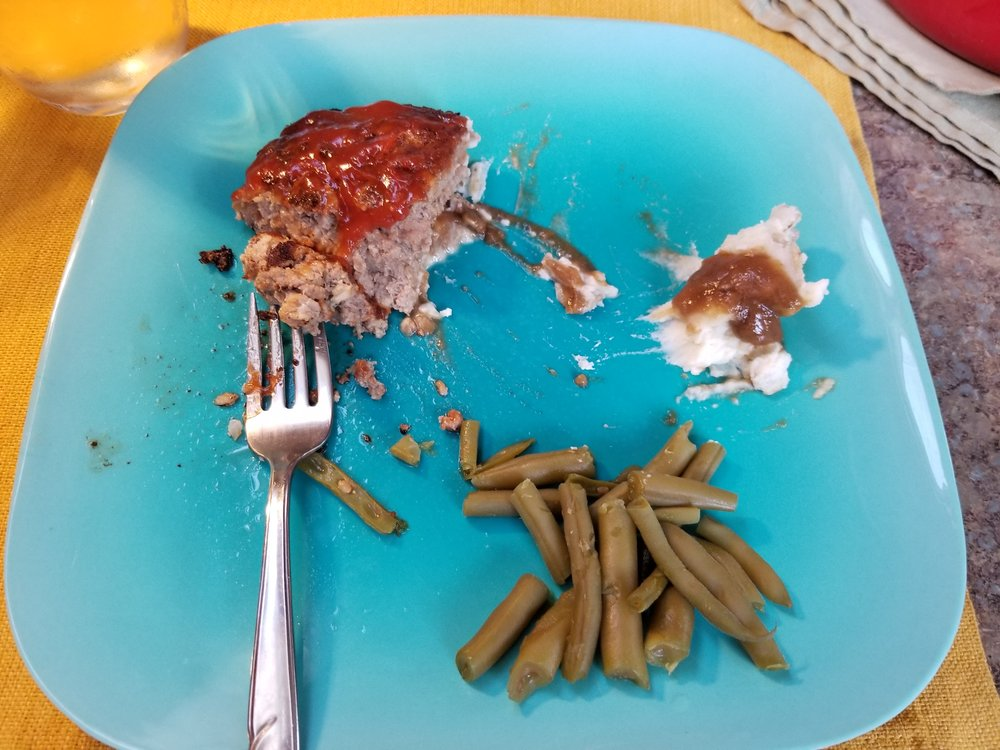 Please pardon the half-eaten meal. It was so tasty, this is where I was when I remembered I'd wanted to take a picture.