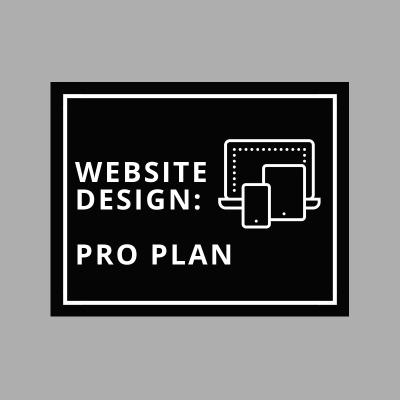 Less Stress Design, the Pro pricing plan.