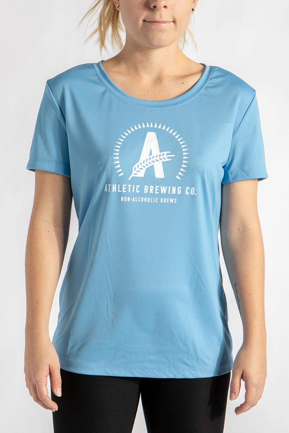 7207640c6 Women's Dri-Fit T-Shirt | Athletic Brewing Company | Craft Non ...